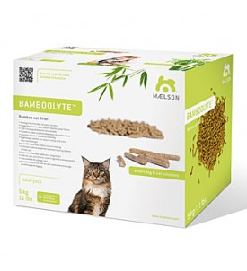 Litière chat Bamboolyte
