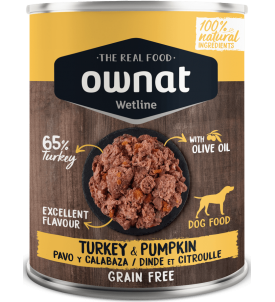 Turkey & Pumpkin Wetline Ownat
