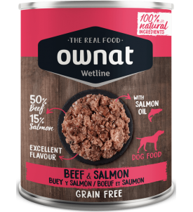 Beef & Salmon Wetline Ownat