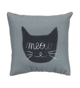 Coussin Meow